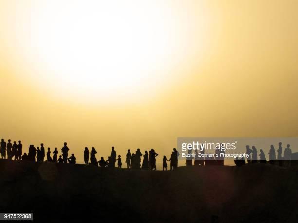 pakistani hindu community celebrate hinglaj festival - pilgrimage stock pictures, royalty-free photos & images