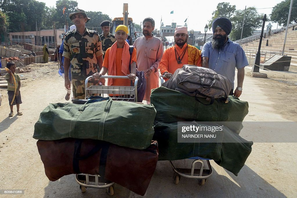Pakistani Hindu priest Ram Nath Maharaj brings the ashes of 160 people Pakistani Hindu Buddhist and Sikh people who died in Pakistan from between...