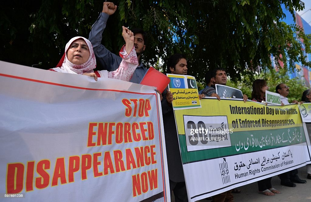 PAKISTAN-UNREST-RIGHTS-PROTEST : News Photo
