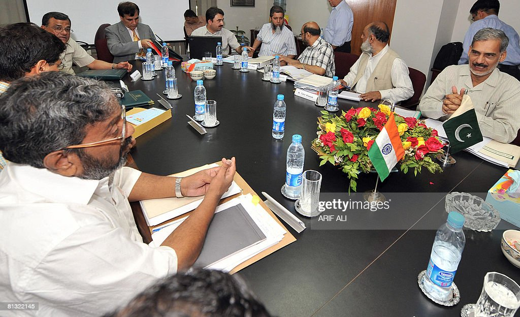Pakistani Indus Basin Water Commissioner : ニュース写真