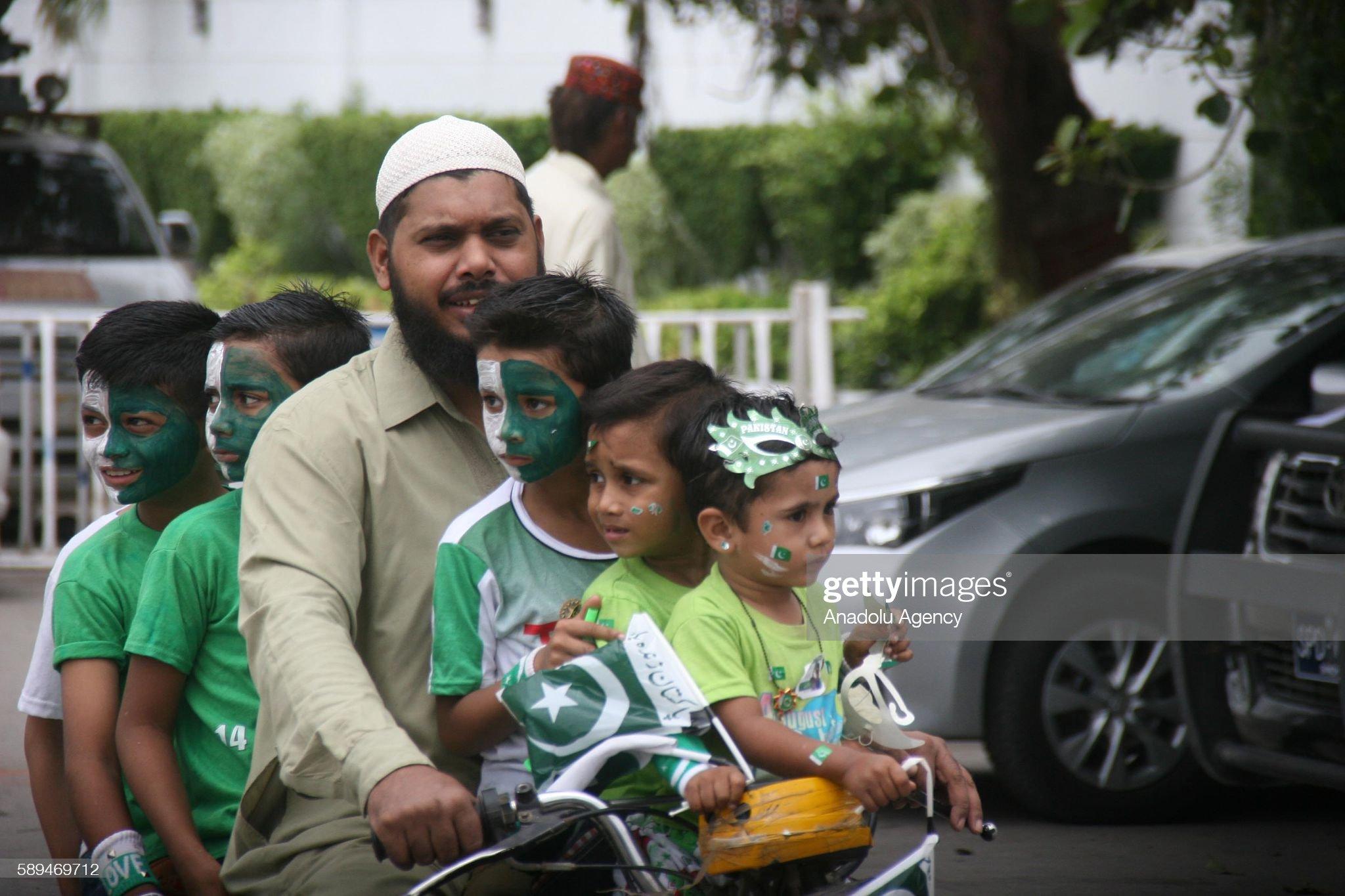 Pakistan's Independence Day : News Photo