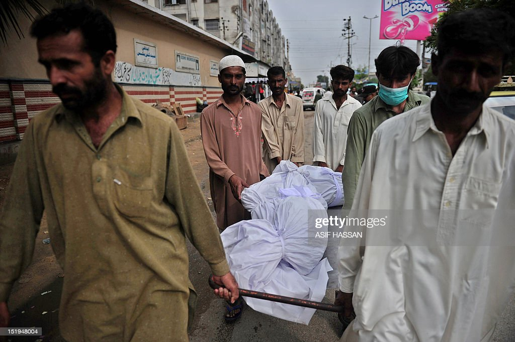 PAKISTAN-DISASTER-FIRE : News Photo