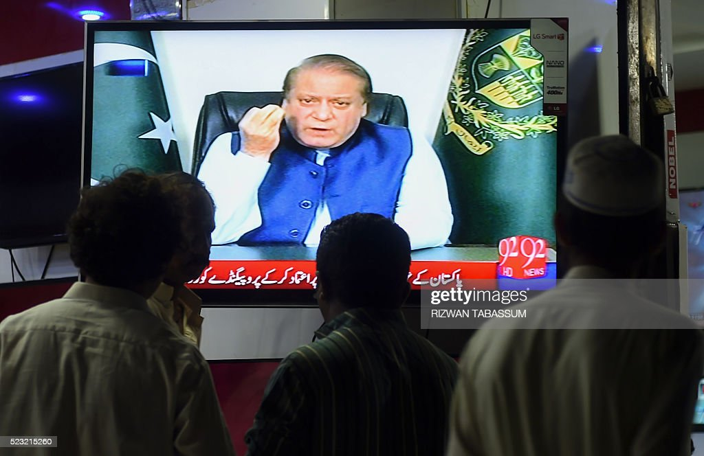 PAKISTAN-POLITICS-CORRUPTION-PANAMA : News Photo