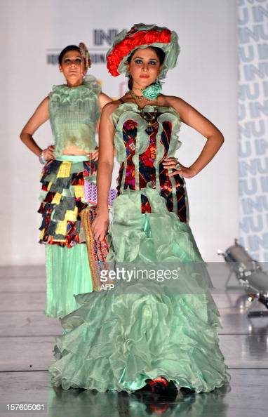 Pakistani Models Present Creations By Students Of Iqra University News Photo Getty Images