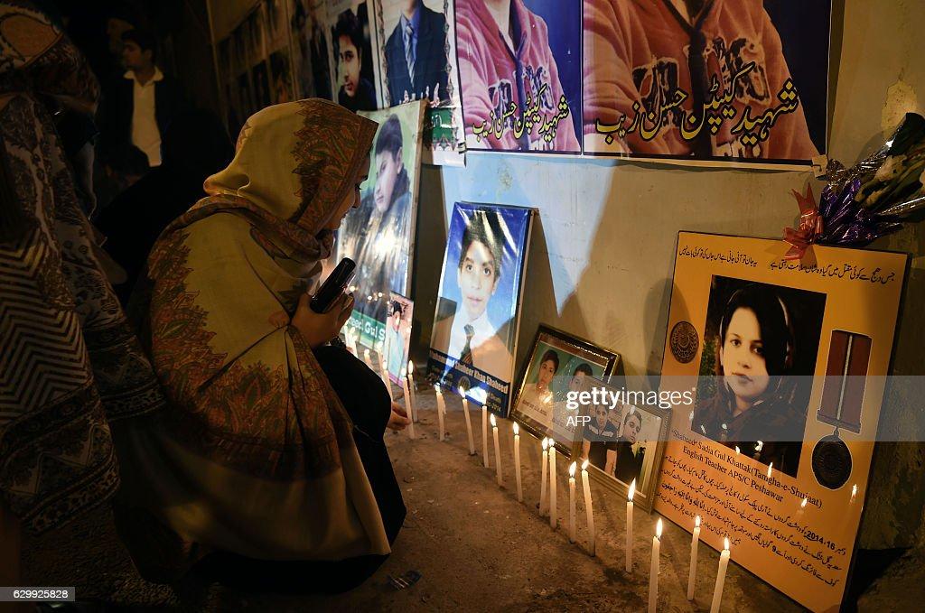 PAKISTAN-UNREST-NORTHWEST-ANNIVERSARY : News Photo