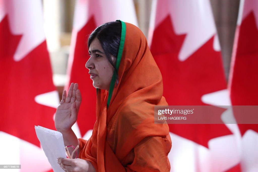 CANADA-EDUCATION-NOBEL-WOMEN : News Photo