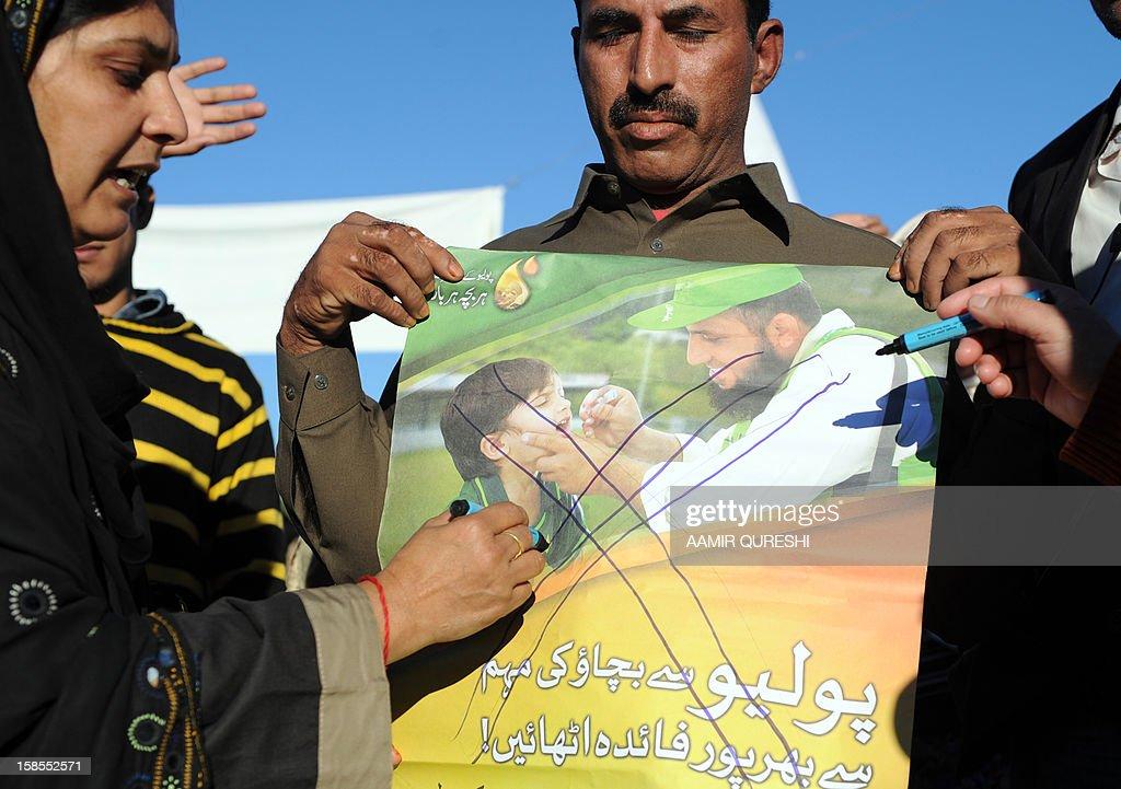 PAKISTAN-UNREST-HEALTH-POLIO : News Photo