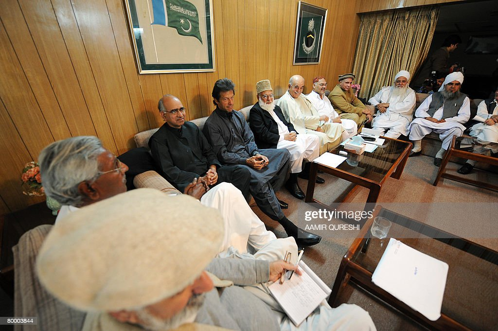 Pakistani politicians from All Parties D : News Photo