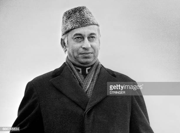 Pakistani President Zulfikar Ali Bhutto arrives in Stockholm on February 23 1976 Zulfikar Ali Bhutto is the President of Pakistan from 1971 to 1973...