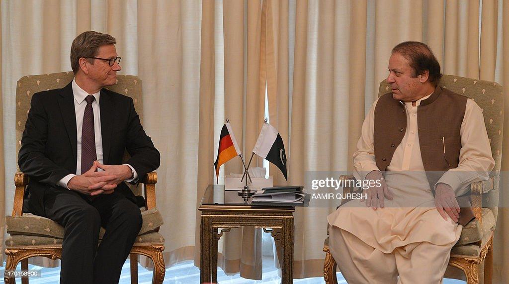 PAKISTAN-GERMANY-DIPLOMACY : News Photo