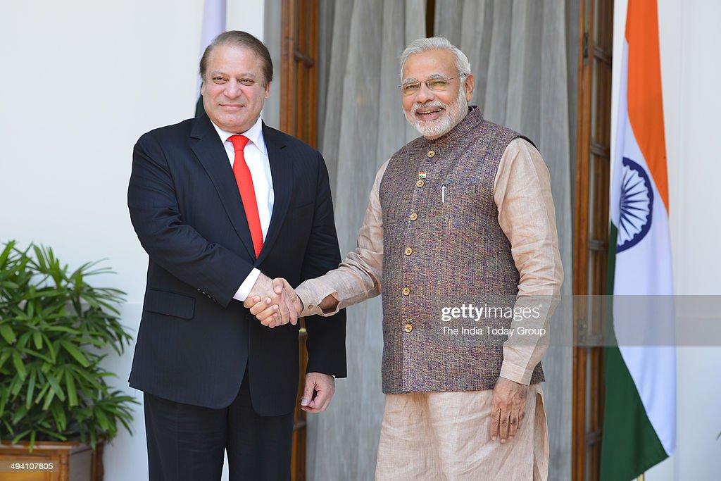 Prime Minister Narendra Modi meets SAARC leaders : News Photo