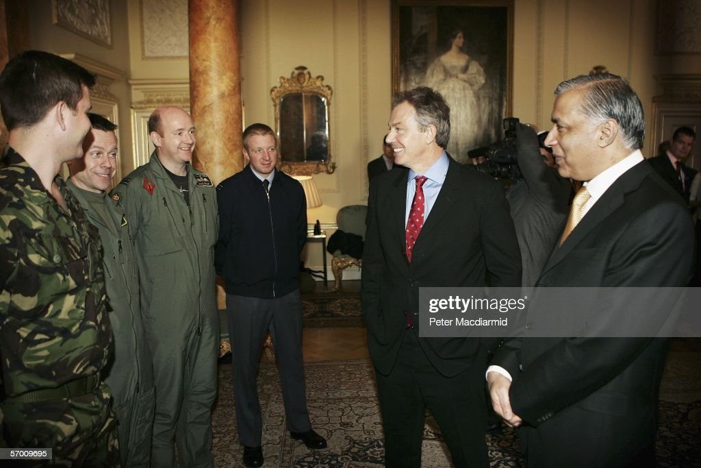 Pakistan PM Shaukat Aziz Visits Britain : ニュース写真