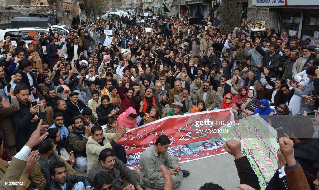 PAKISTAN-POLICE-KILLING-RIGHT : News Photo