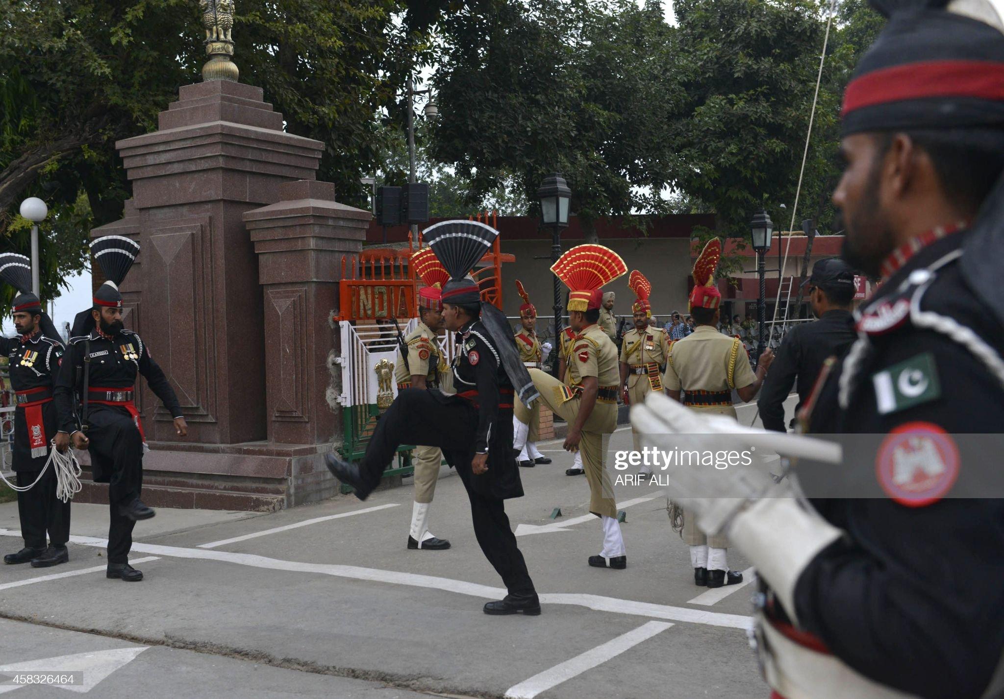 PAKISTAN-UNREST-BLAST-INDIA : News Photo