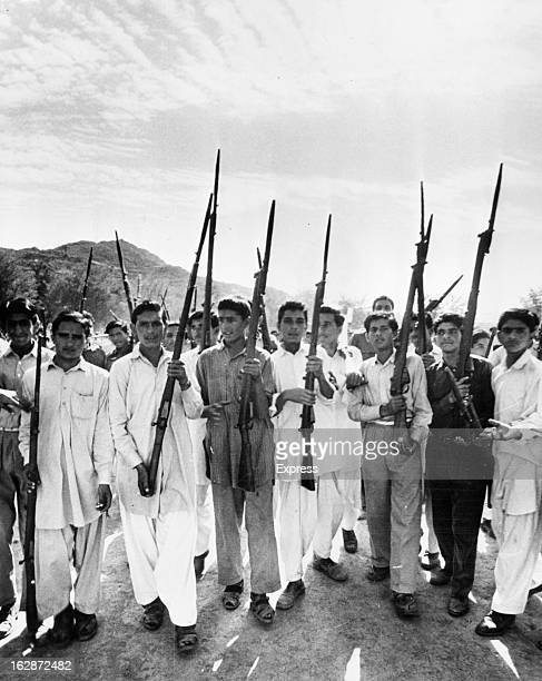 Pakistani Refugees Keep Training To Fight In Kashmir Despite CeaseFire at Rehara Refugee Camp 10/8/65