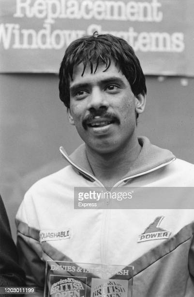 Pakistani squash player Jahangir Khan UK 24th April 1985