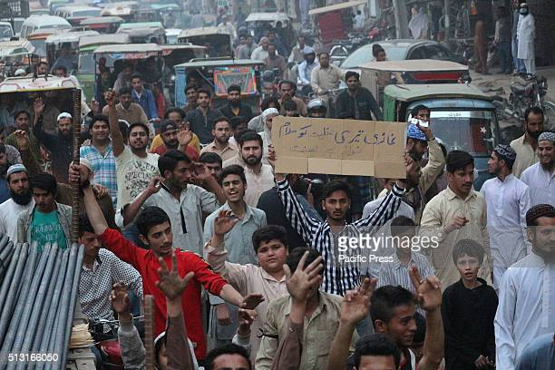 Pakistani supporters of Mumtaz Qadri protest against the execution of convicted murderer Mumtaz Hussain Qadri The angry Islamist supporters who had...