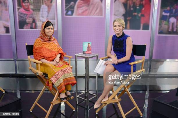 AMERICA Pakistani teenager and education activist Malala Yousafzai talks to Amy Robach on GOOD MORNING AMERICA and takes questions from an audience...