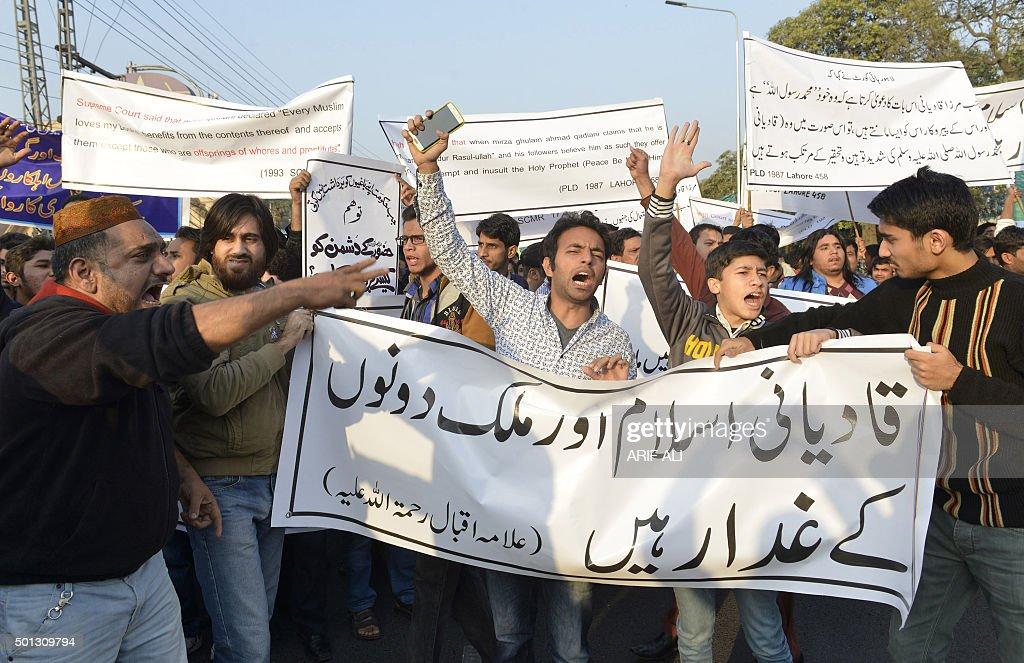 PAKISTAN-UNREST-RELIGION-AHMADI : News Photo