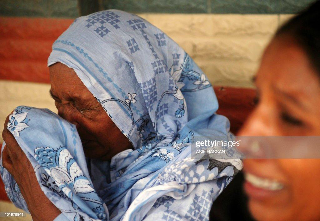 PAKISTAN-DISASTER-FIRE : News Photo