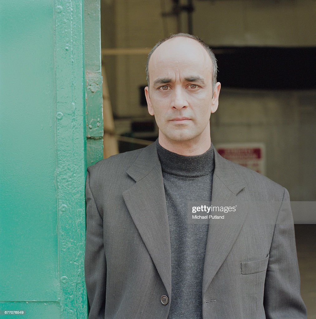 Pakistani-born British actor Art Malik at Pinewood Studios, Buckinghamshire, 31st May 2003.