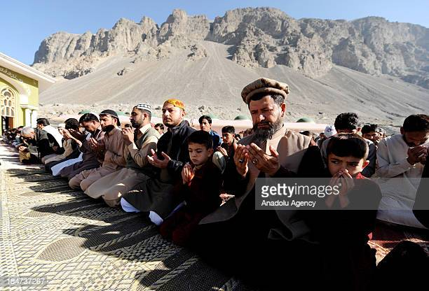 Pakistanis in Skardu surrounded by the western Himalayas perform the Eid alAdha prayer on October 16 and exchange bairam greetings