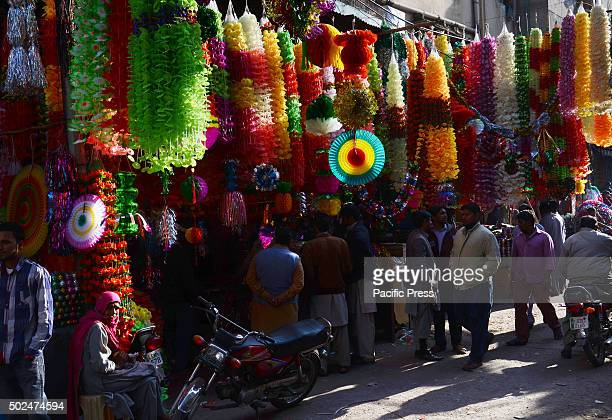 Pakistanis shop various stuff in connection with upcoming EideMiladunNabi celebrations The nation and across the world celebrate the birth...