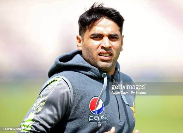 Pakistan's Abid Ali during the nets session at the Ageas Bowl Southampton