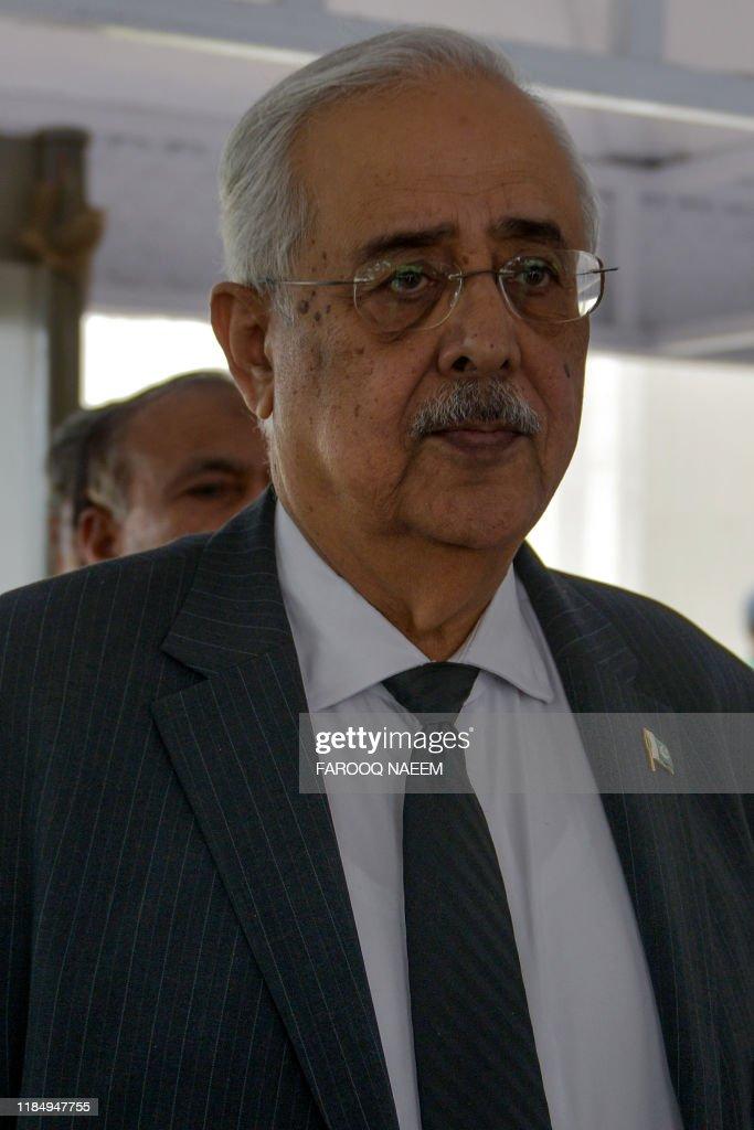 PAKISTAN-POLITICS-MILITARY-COURT : News Photo