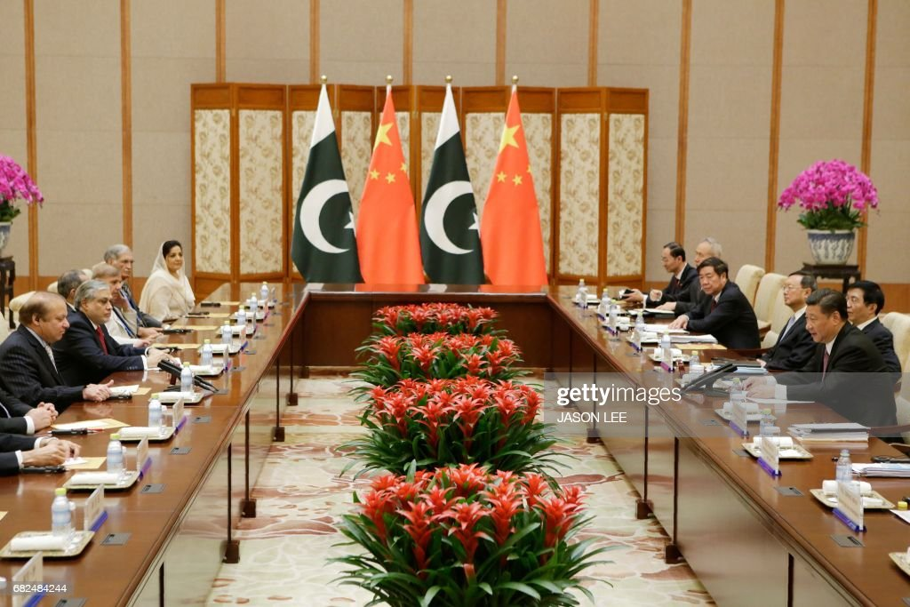 CHINA-PAKISTAN-DIPLOMACY : News Photo