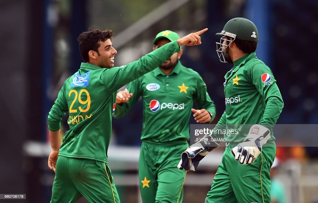 CRICKET-TRI-WIS-PAK-T20I : News Photo