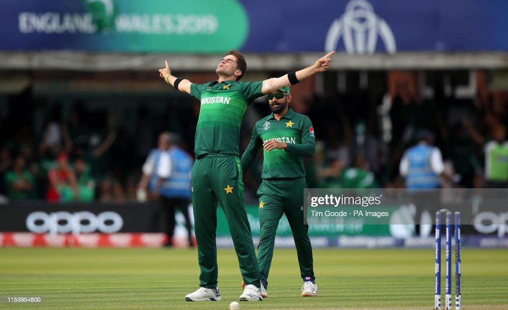 Pakistan v Bangladesh - ICC Cricket World Cup - Group Stage - Lord's : News Photo