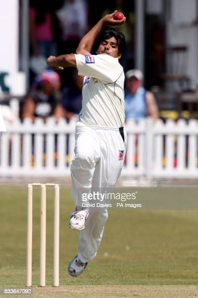 Pakistan's Shahid Nazir during the Tour match against Leicestershire at Grace Road Leicester Photo Credit should read David Davies/PA