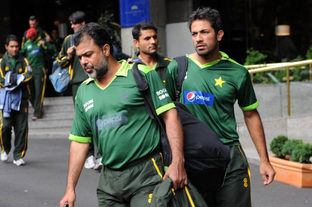 Cricket - Yawar Saeed at Royal Gardens Hotel Pictures | Getty Images