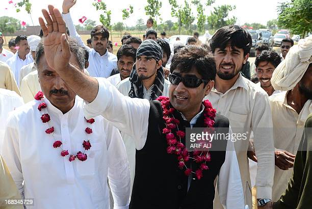 PakistanunrestvotecandidateHaq by Issam Ahmed In this photograph taken on May 8 2013 shows AbrarulHaq a candidate for the national assembly for Imran...