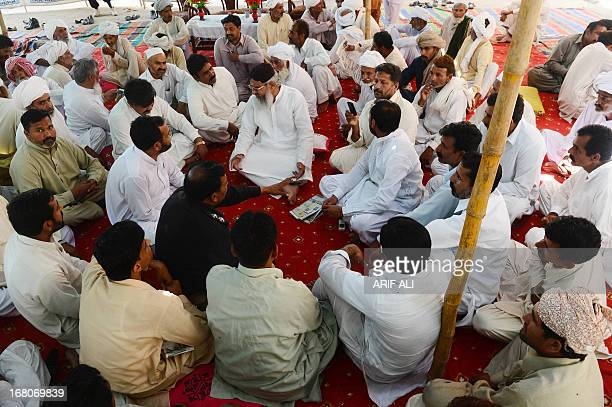 PakistanunrestvotesectarianFOCUS by Waqar Hussain In this photograph taken on April 2 Maulana Ahmad Ludhianvi the head of hardline Pakistani Sunni...