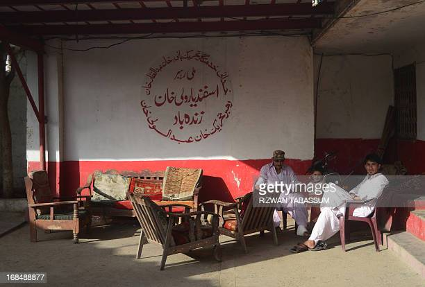 PakistanunrestvoteTalibanFOCUS by Emmanuel Duparcq In this photograph taken on May 6 shows supporters of the Awami National Party siting in their...