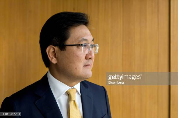 Pakorn Peetathawatchai president of the Stock Exchange of Thailand poses for a photograph in Bangkok Thailand on Friday March 22 2019 Postelection...