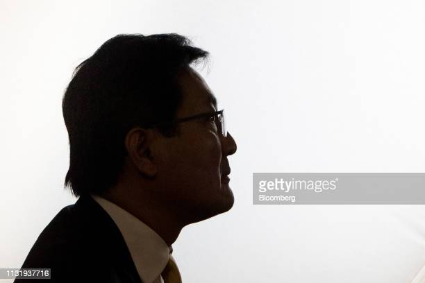 Pakorn Peetathawatchai president of the Stock Exchange of Thailand sits ahead of a Bloomberg Television interview in Bangkok Thailand on Friday March...