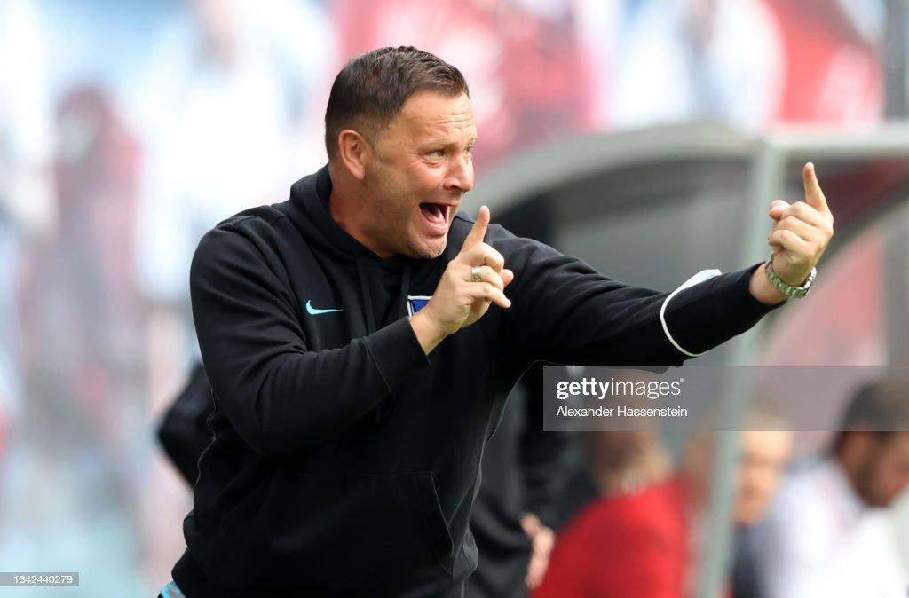 RB Leipzig v Hertha BSC - Bundesliga : Nachrichtenfoto