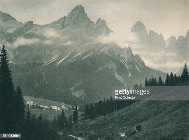 Pala Group, San Martino di Castrozza, Dolomites, Italy' , from 'Italien in Bildern,' by Eugen Poppel , 1927.