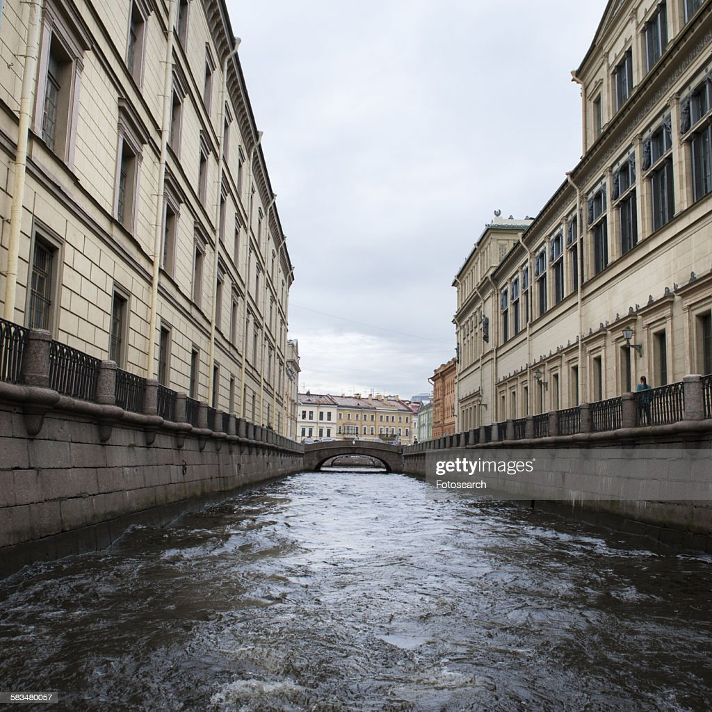 Palace at a canal : Stock Photo
