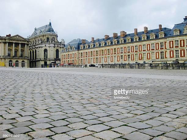 Palace at Versailles - Courtyard