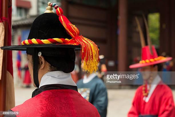 Palace guards at the Deoksugung, Seoul