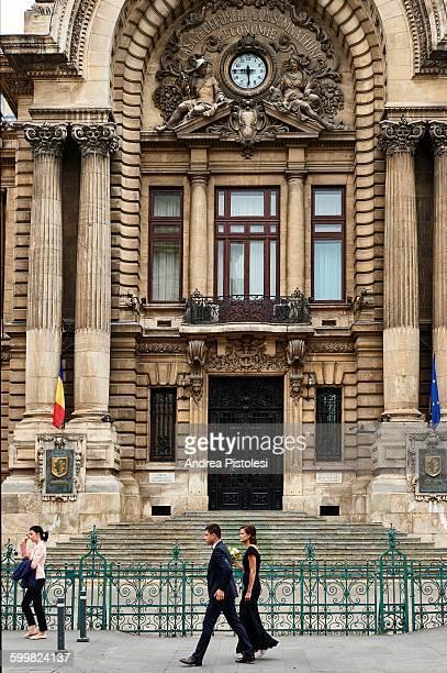 CEC Palace in Bucharest, Romania