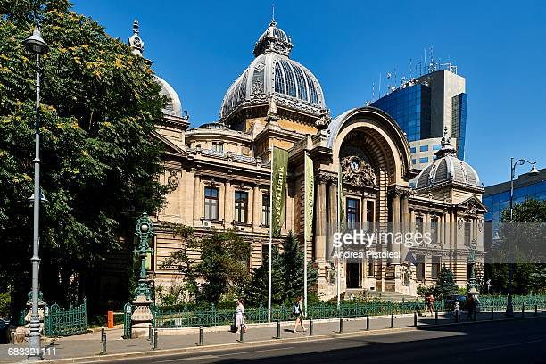 CEC Palace in Central Bucharest, Romania