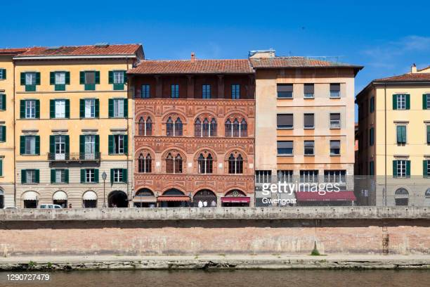 palace of agostini in pisa - gwengoat stock pictures, royalty-free photos & images