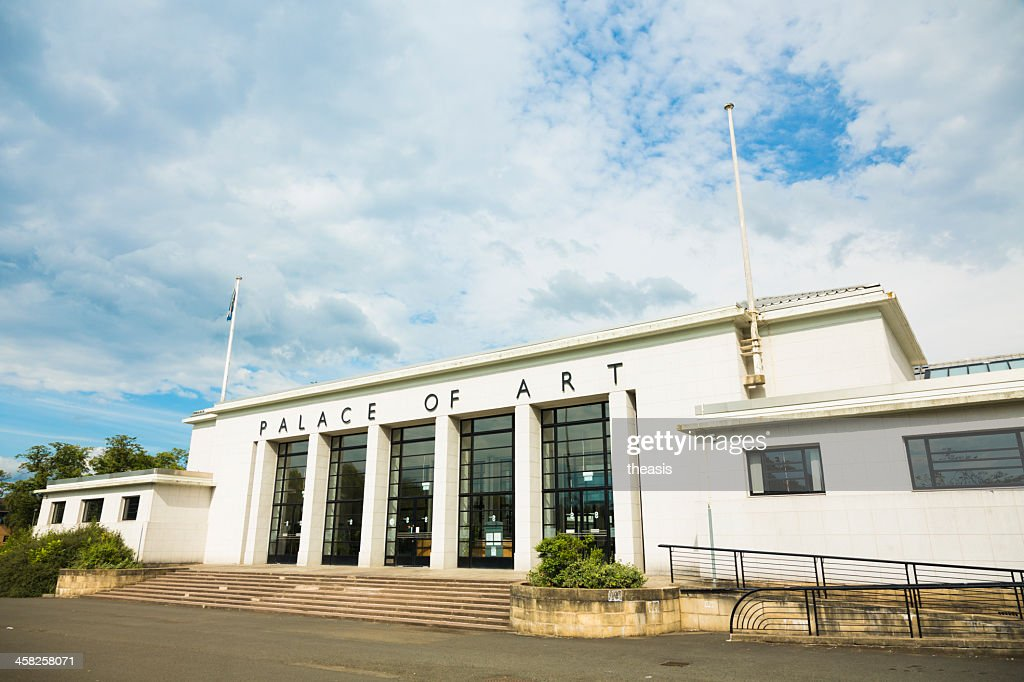 Palace of Art, Glasgow : Stock Photo