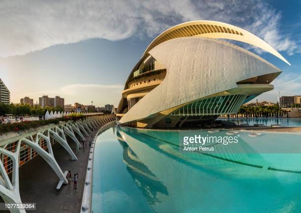 Palace of Arts Reina Sofia, The City of Arts and Science in Valencia, Spain