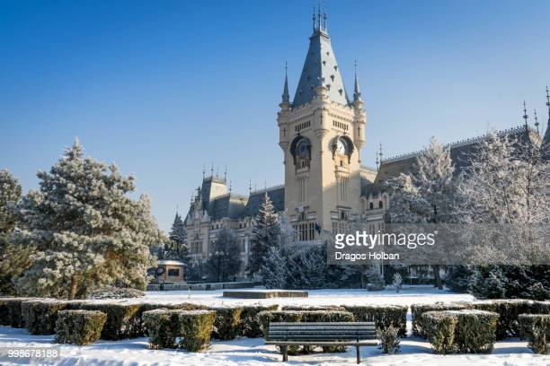 palace of culture iasi, romania - palace stock photos and pictures